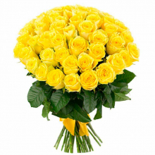51 yellow roses